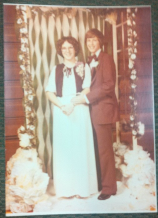 Circa 1980-1981, Fall Formal (Click on image for a larger view)